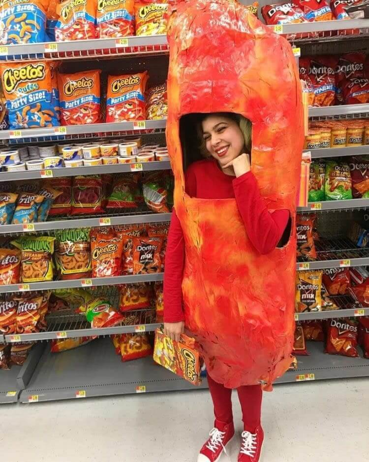 When You Eat So Many Hot Cheetos You Become One