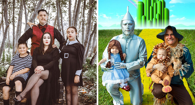 30+ Of The Best Family Halloween Costumes That Are Impossible To Beat