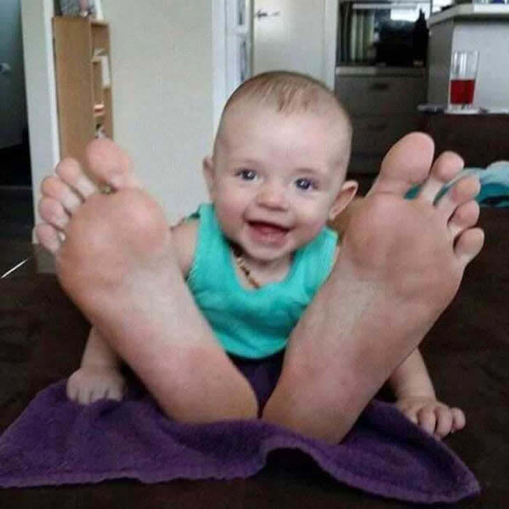 Bebê Pé Grande