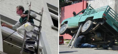 40 Hilarious Photos of People Who Went For It, No Matter How Dangerous
