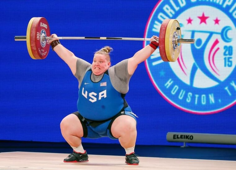 Holley Mangold – 415 lbs