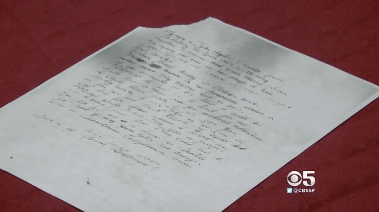 A carta que mudou tudo