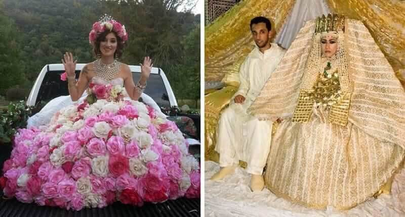 The Most Bizarre Wedding Dresses In The World