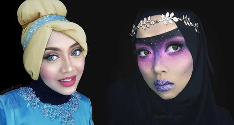 This Makeup Artist Uses Her Hijab To Transform Into Pop Culture Characters