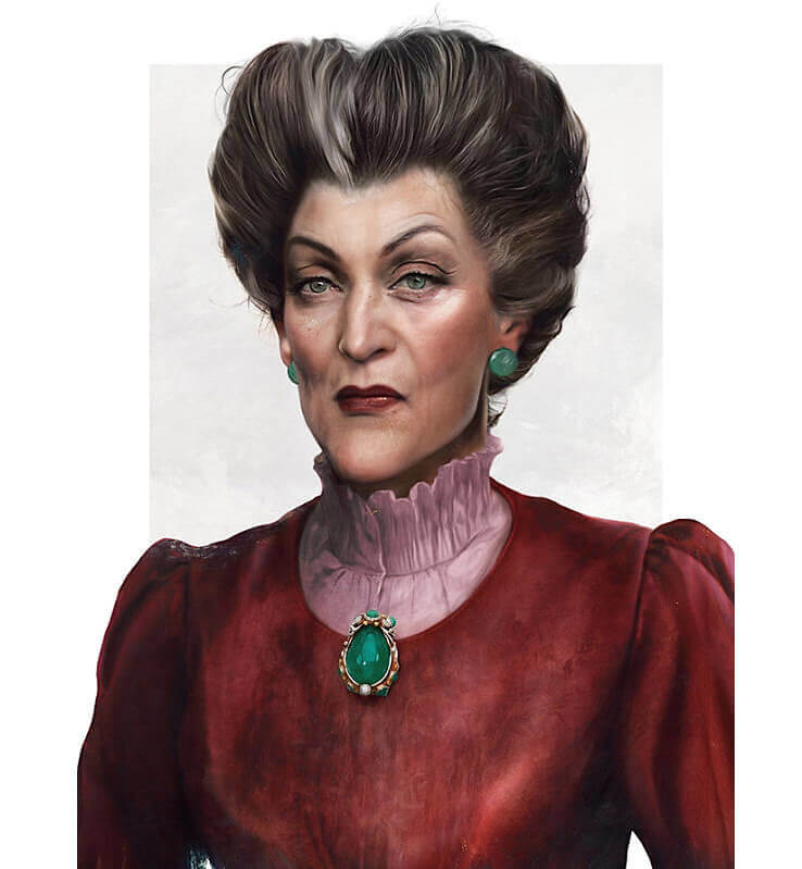 Lady Tremaine From Cinderella