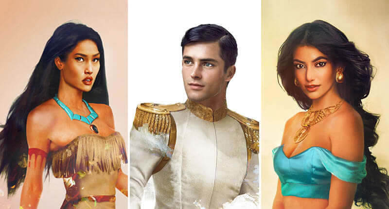 This Is How Disney Characters Would Look Like As Real People