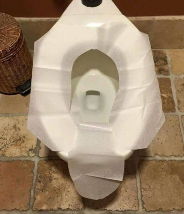 Cubra O Vaso Sanitário Certo E Se Proteja De Germes