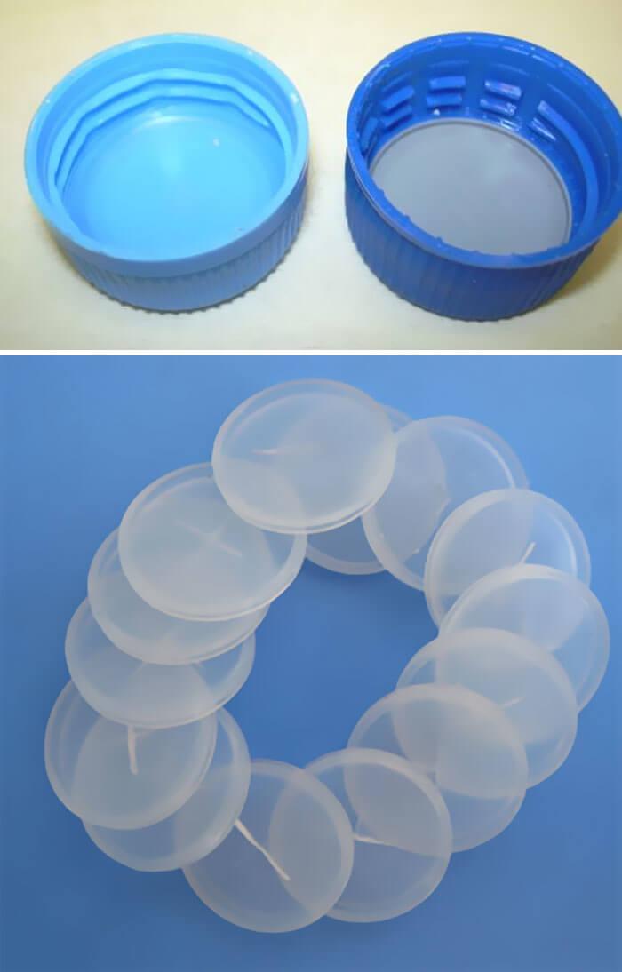 Não Remova Os Discos De Plásticos De Tampas De Garrafa