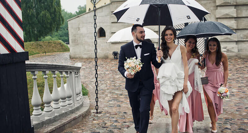 How To Prepare For The Perfect Rainy Wedding Day
