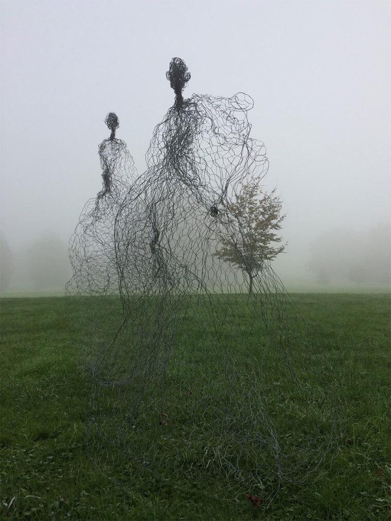 Esculturas Que Tem Um Sentimento Espiritual