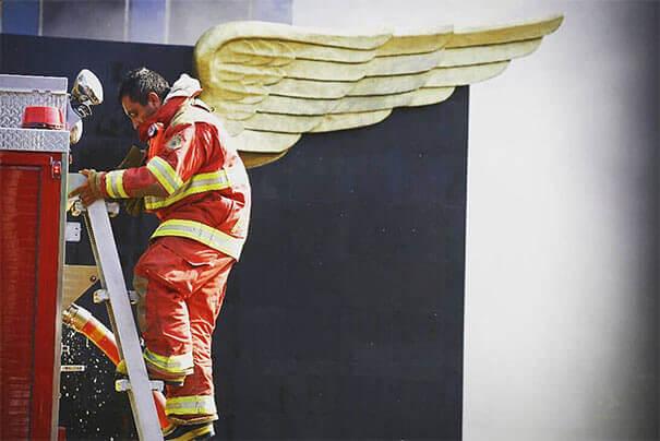 Ο Άγγελος Πυροσβέστης
