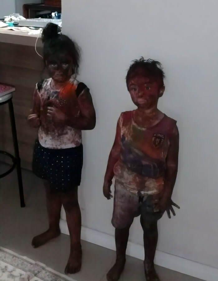 Crianças do Mundo dos Desenhos Animados