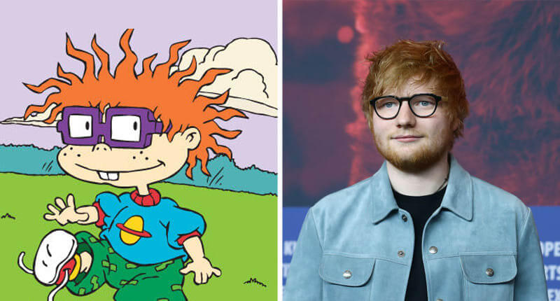 30+ Celebrities That Look Exactly Like Cartoon Characters