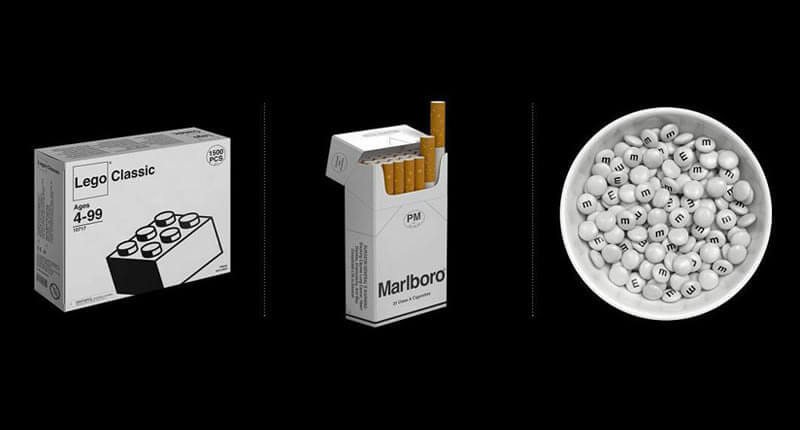 This Is How An Artist Imagined Household Brands In A Monochromatic Dystopian World