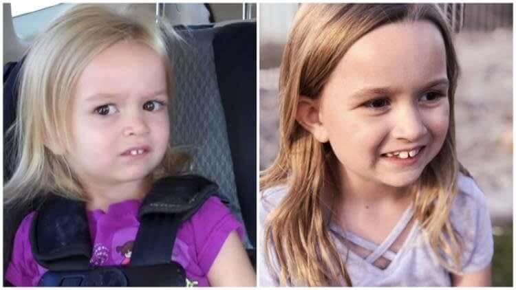 Side-eye chloe, a jovenzinha mais desgostosa da internet, não envelheceu tanto assim.